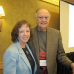 Dr. Judith Kaur with Dr. James Hampton, 2010
