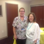 Lisa Baethke and Dr. Judith Kaur in August 2015 at Dr. Kaur's  Farewell to Rochester Mayo; relocating to Jacksonville Mayo!