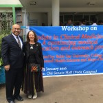 Dr. Patel and Dr. Kaur in Ethiopia for a conference - January 2016
