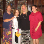 Lisa Baethke, Dr. Judith Kaur, Jalissa Nawrocki, and Marcy Averill - August 2015.
