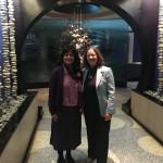 Shobha Srinivasan and Dr. Judith Kaur in Jacksonville, FL for the Spring Network Meeting - February 2016